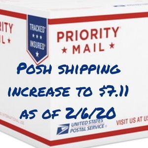 Other - $7.11 is the posh shipping rate as of 2/6/20